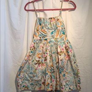 Summer dress spaghetti straps no tags